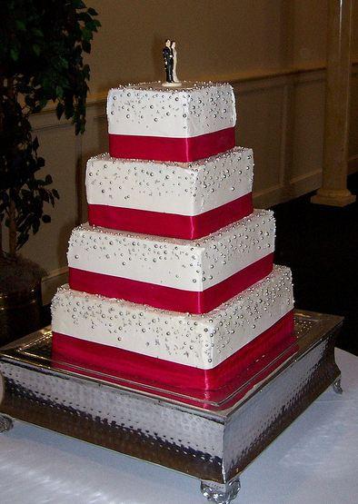 Elegant Wedding Cake Yellow