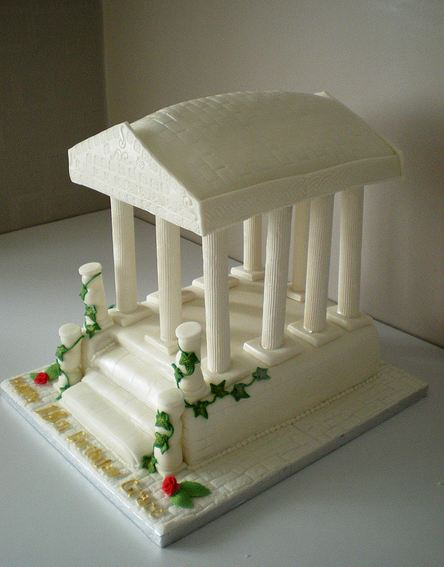 Roman temple cake.JPG