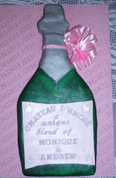 Champagne bottle engagement cake picture.PNG