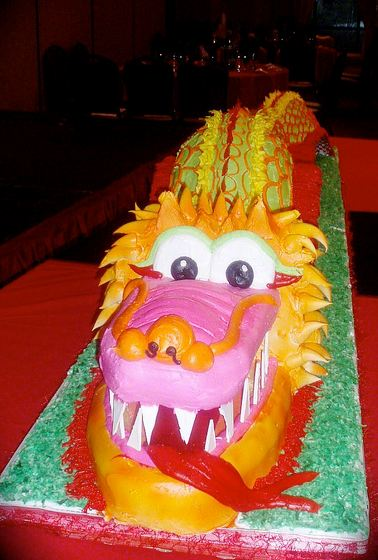 Chinese Dragon Cake Jpg