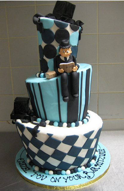 Modern Bar Mitzvah Cake Design Picture Png 1 Comment