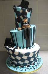 Modern bar mitzvah cake design picture.PNG