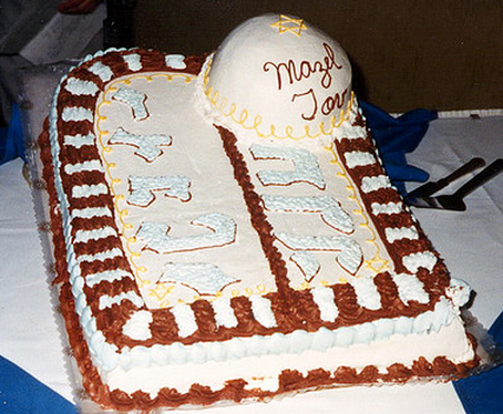 Cake design of a traditional Bar Mitzvah cake.PNG
