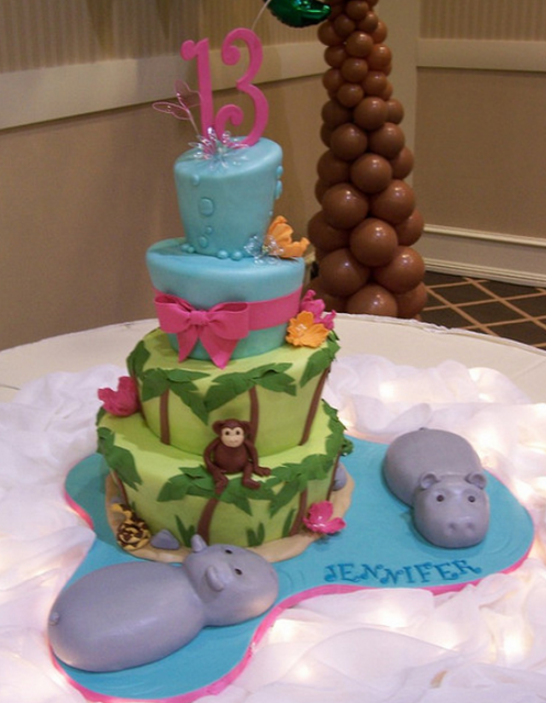 Jungle Bat Mitzvah cake picture.PNG