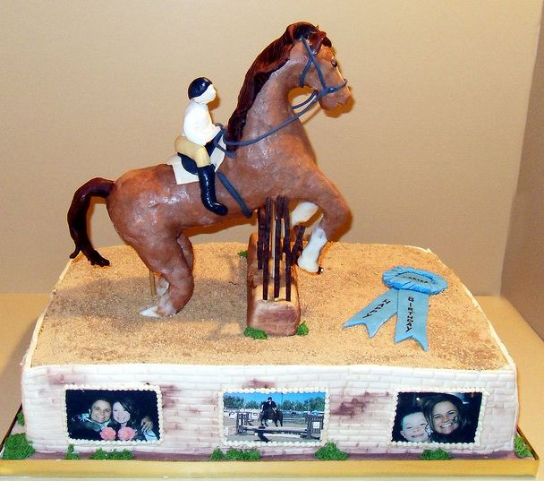 Equestrian Theme Birthday Cake Jpg 1 Comment