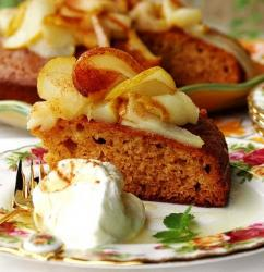Honey Cake with Caramelized Pears.jpg