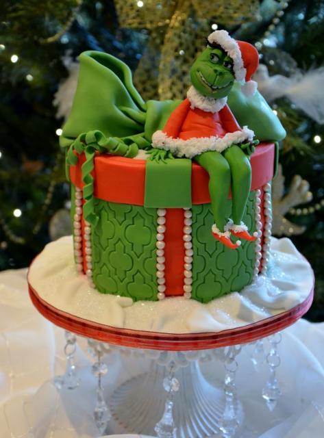 Green Female Grinch Christmas Cake Jpg Hi Res 720p Hd