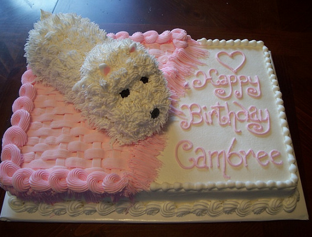 Cute Birthday Cake DogPNG