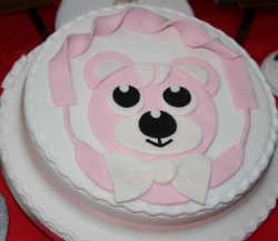 Cute dog cake for dog birthday parties.PNG