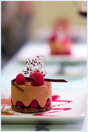 Chocolate Mousse, Raspberry and Croustillant.jpg