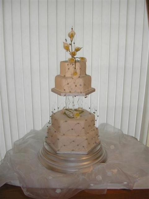 4 Tier Wedding Cake Image