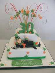 Modern Leprechaun cake for birthday.PNG