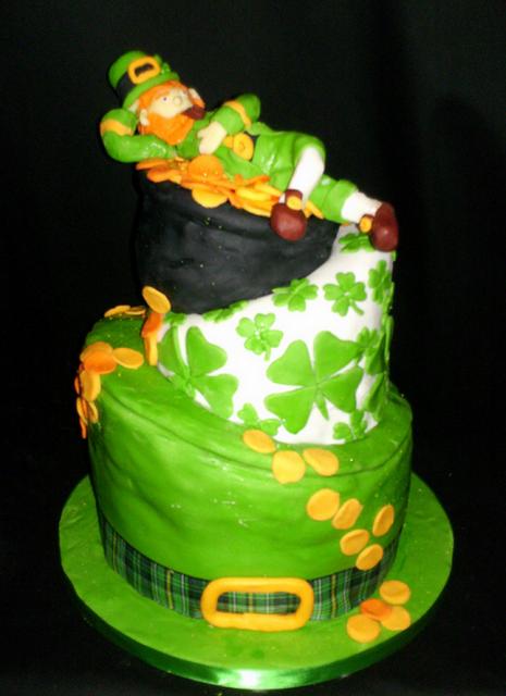Fancy Leprechaun Cakes Picture Png Hi Res 720p Hd