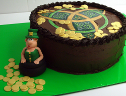 Funny Leprechaun cake for your St. Patrick's day party.PNG