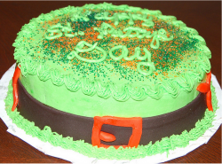 Image of leprechaun hat cake.PNG