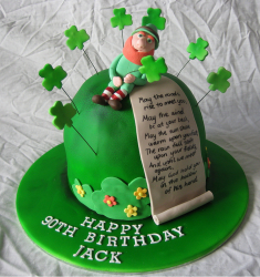 Leprechaun birthday cake pictures.PNG