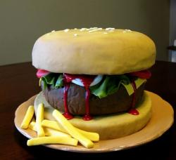 Chubby burger and fries cake.JPG