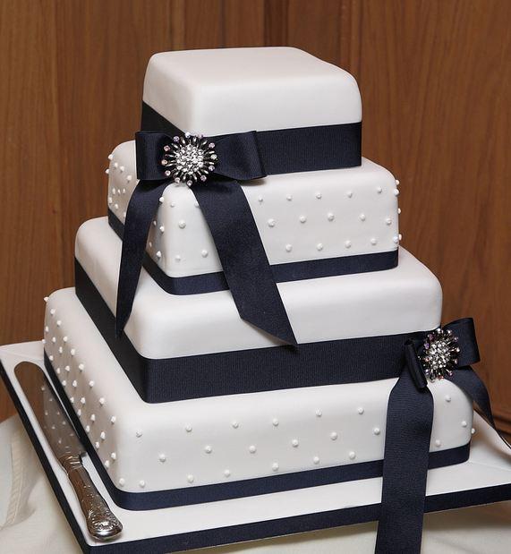 3 Tier Wedding Cakes 82 Marvelous Pictures rectangular wedding cakes