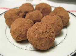 Chocolate Truffles dusted in bitter dark cocoa powder.jpg