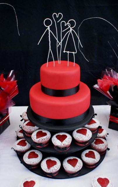 3 tier wedding cakes with cupcakes two tier wedding cake with two cupcake tiers and wired 10327