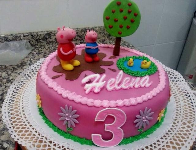 Birthday Cake For 3 Year Girl Image Inspiration of Cake and