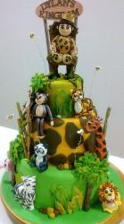 3 tier king of the jungle birthday cake.JPG