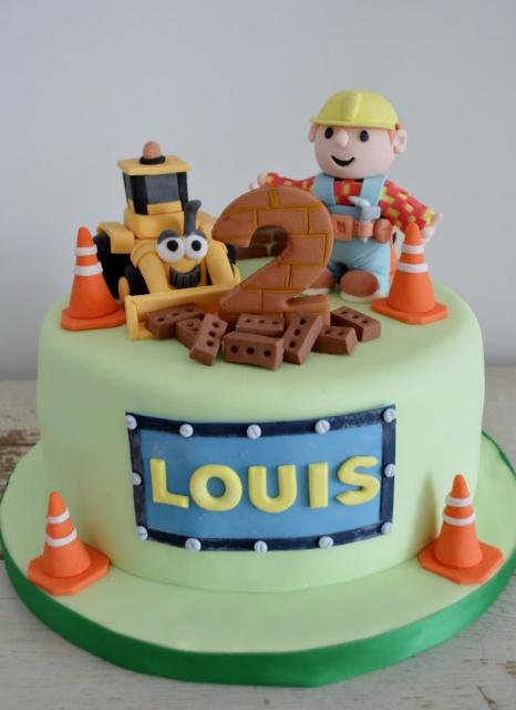 Phenomenal Bob The Builder 2Nd Birthday Cake Jpg Hi Res 720P Hd Funny Birthday Cards Online Elaedamsfinfo