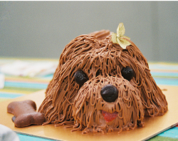 Doggie birthday cake picture_cute small dog face cake.PNG