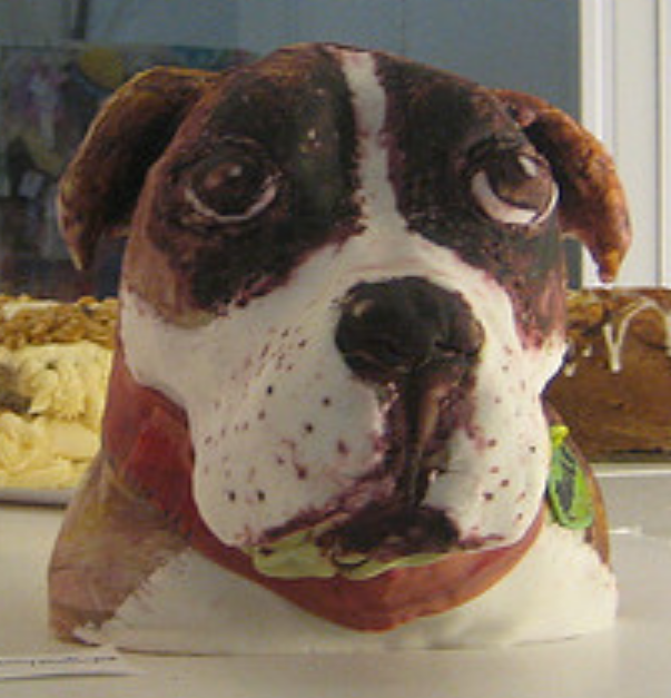 http://www.cakepicturegallery.com/d/57921-1/Dog+head+cake+picture+for+dog+birthday.PNG
