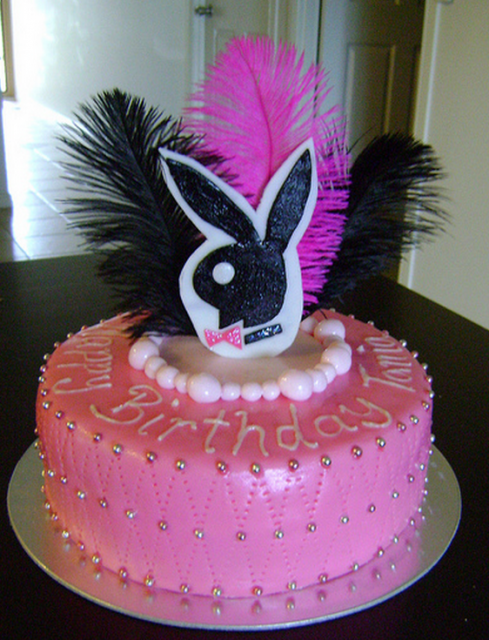 Very Chic Playboy Birthday Cake Picture Png 2 Comments