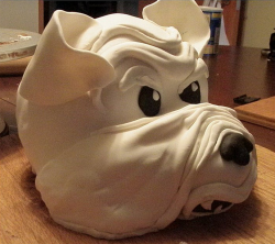 Head of a Bull dog cake picture_great dog birthday cakes for dogs.PNG