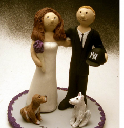 Image of Wedding Cake Topper with Pet Dogs.PNG