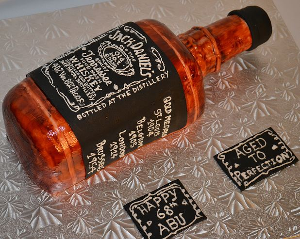 Jack Daniels Birthday Cake For 68 Year Old Jpg 2 Comments