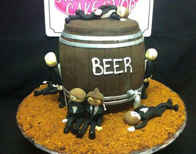 Drunk bachelors Groom's cake.JPG
