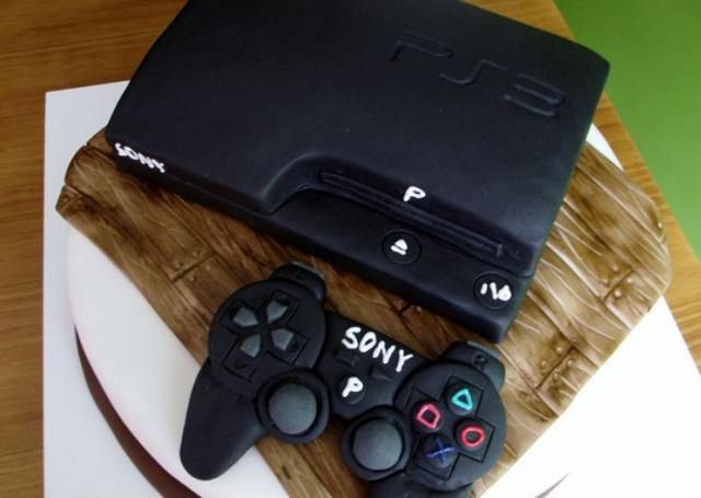 Playstation 3 Cake With Controller Jpg 1 Comment