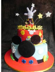 2 tier Micky Mouse theme cake.JPG