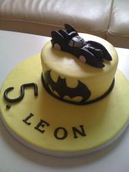Batmobile Cake for Leon 2011 016
