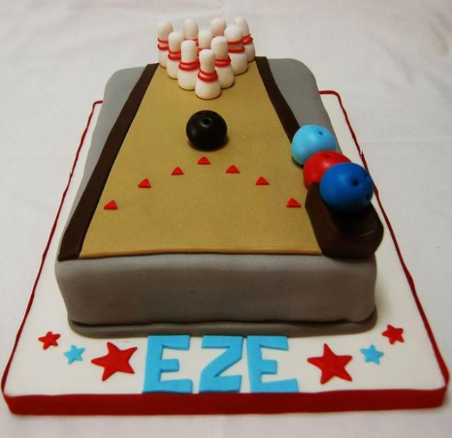 Bowling Alley Cake Ideas