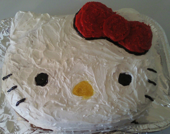 Homemade Hello Kitty cake pictures.PNG