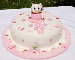 Cute Hello Kitty cake photos.PNG