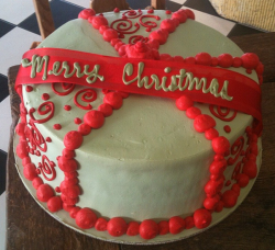 Homemade christmas cake decor ideas.PNG