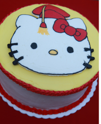 Hello Kitty graduation cakes pictures.PNG