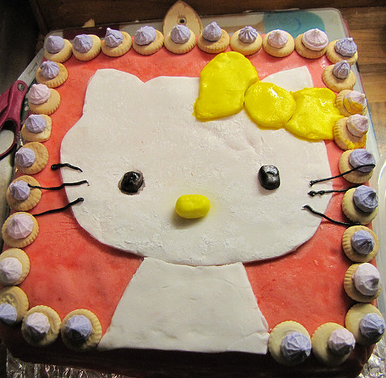 make homemade hello kitty birthday cake.PNG