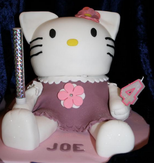 hello kitty wedding cake toppers