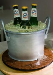 Beer bucket birthday cake.JPG