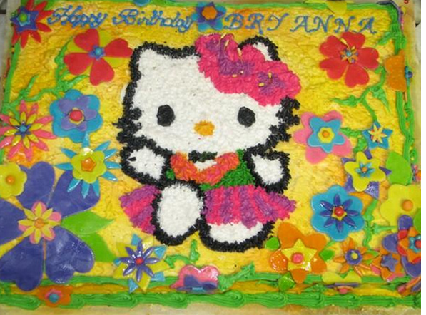 Hawaiin Hello Kitty cakes pictures.PNG