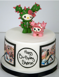 Cactus hello kitty twins cakes.PNG