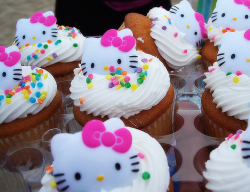 Colorful hello kitty cupcakes pictures.PNG