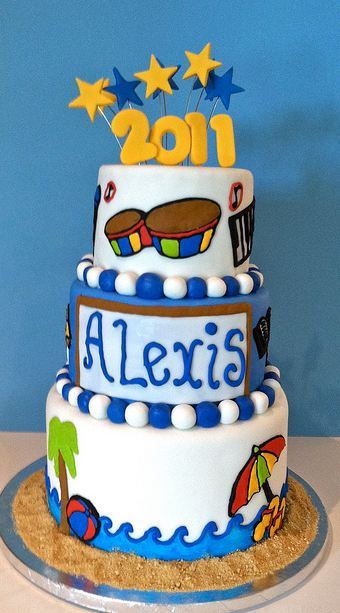 3 tier school theme graduation cake.JPG