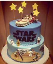 Star Wars Birthday Cake on Star Wars Birthday Cake Designs Png